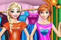 Сестры на Шопинге 2 - Elsa And Anna Shopping Time