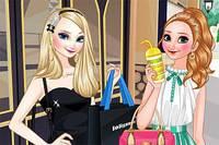 Сестры на Шопинге - Elsa And Anna Go Shopping