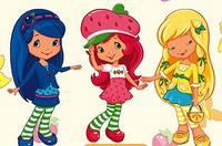 Найди Пару с Шарлоттой - Strawberry Shortcake Memotrick