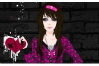 Школьница Эмо - Emo Schoolgirl