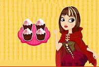 Кексы - Cerise Hoods Chocolate Fairy Cupcakes