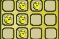 Шрек: Запоминать Фото - Shrek Memory Tiles