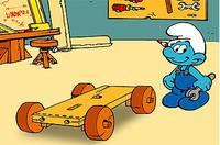 Смурфик Собирает Машину - The Smurfs Handys Car