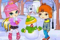 Снеговик и Дети - Snowman Adventure
