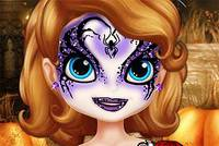София Готовится к Хэллоуину