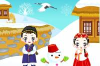 Создай Зимний Пейзаж - Winter Wonder Decoration