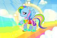 Дружба это Чудо: Стиль Пони - Rainbow Dash Super Style