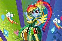 Стиль Рэйнбоу Дэш - Rainbow Dash Rainboom Style