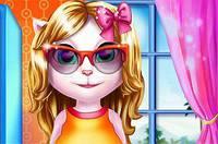 Стильная Беременная Кошка - Kitty Pregnant Fashion