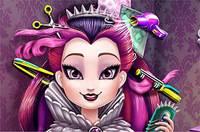 Стрижка Рейвен Квин - Raven Queen Real Haircuts