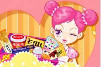 Су любительница конфет - Sue candy eater