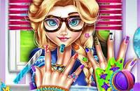Супер Ногти Эльзы - Elsa Hipster Nails
