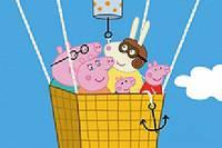 Свинка Пеппа на Воздушном Шаре - Peppa Pig