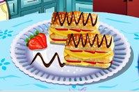Торт Наполеон - Saras Cooking Class Napoleon Pastries