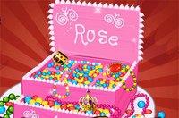 Торт Сундучок - Princess Jewelry Box Cake