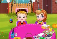 Тыквенная вечеринка с Хейзел - Baby Hazel Pumpkin Party