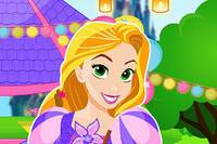 Уборка с Рапунцель - Rapunzel Party Clean Up