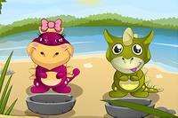 Уход за Динозавриками - Baby Dino Daycare