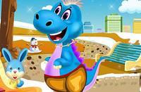 Уход за Динозавриком - Baby Dino Pet Sra end Care