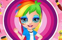 Узоры на Лице - My Little Pony Face Painting
