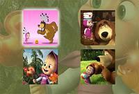 Веселые Приключения Маши и Медведя