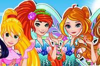 Винкс и Принцессы Диснея - Disney Princess Winx Club