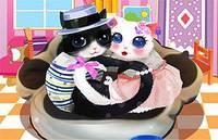 Влюбленные Коты - Heart Cats Dress