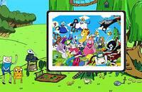Время Приключений: Пазл - Adventure Time Spin Puzlle