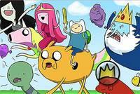 Спрятанные Буквы - Adventure Time Hidden Letters
