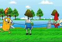 Веселые Прыжки - Аdventure Time Funny Jump