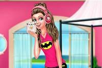 Выходной Барби - Super Barbie Lazy Day