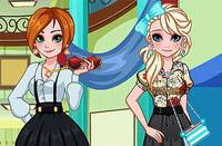 Выпускной Сестер - Frozen Sister Gradution MakeOver