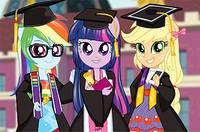 Выпускной в Эквестрии - Equestria Team Graduation