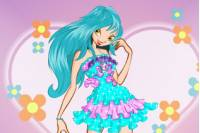 Winx Одевалка с Сердцем - Winx Dress up