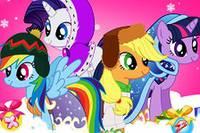 Зимние Образы Пони - My Little Pony Winter Fashion