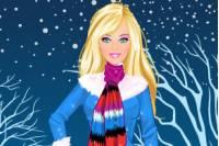 Зимняя Барби