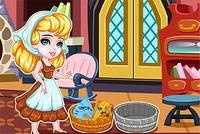 Золушка Стирает - Cinderella Laundry Day